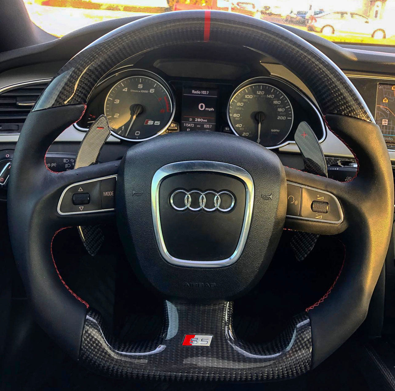 Audi B8 Pre Facelift S4 S5 A4 A5 Carbon Edition Steering Wheel Eurozone Tuning