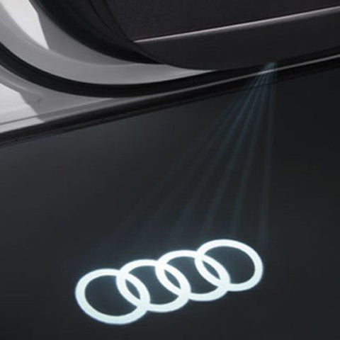 OEM Audi Zuhebor Projection LED Door Light Set