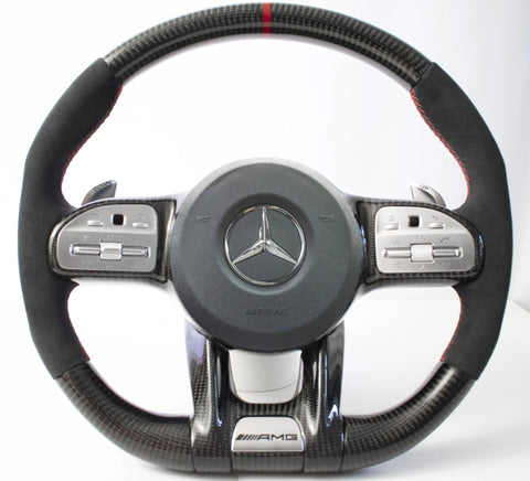 Mercedes Benz AMG 2018+ Facelift C63/E63/GT/CLS Carbon Edition Steering Wheel