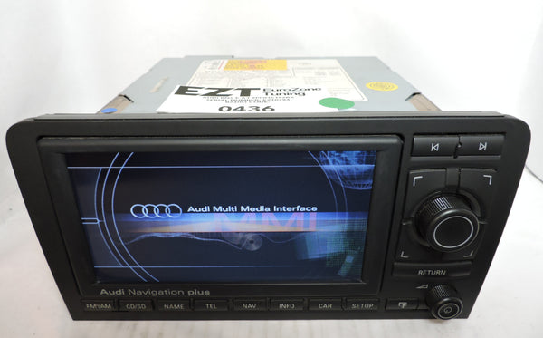 Audi RNS-E GEN1 Navigation System (Audi A3) - Eurozone Tuning - 6