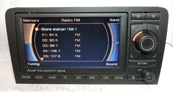 Audi RNS-E GEN1 Navigation System (Audi A3) - Eurozone Tuning - 8