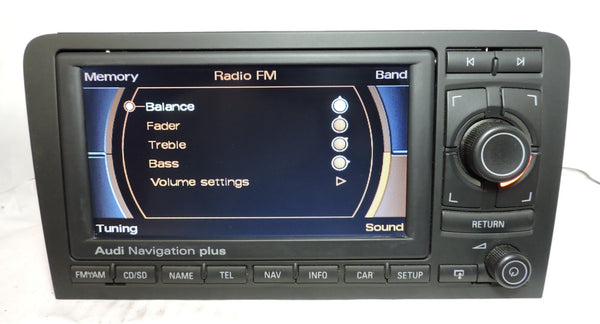 Audi RNS-E GEN1 Navigation System (Audi A3) - Eurozone Tuning - 9