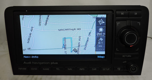 Audi RNS-E GEN1 Navigation System (Audi A3) - Eurozone Tuning - 11