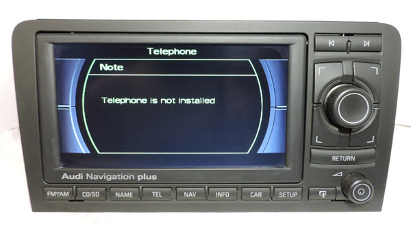 Audi RNS-E GEN1 Navigation System (Audi A3) - Eurozone Tuning - 13