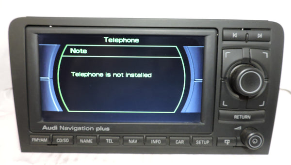 Audi RNS-E GEN1 Navigation System (Audi A3) - Eurozone Tuning - 14