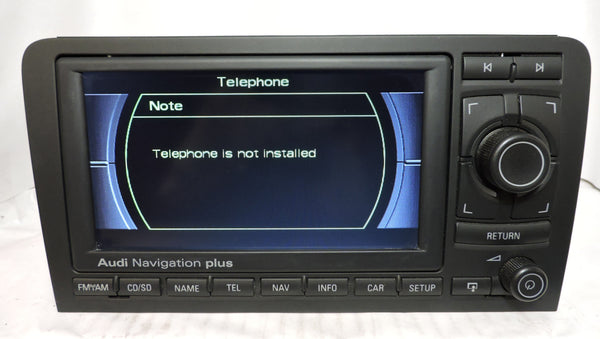 Audi RNS-E GEN1 Navigation System (Audi A3) - Eurozone Tuning - 15