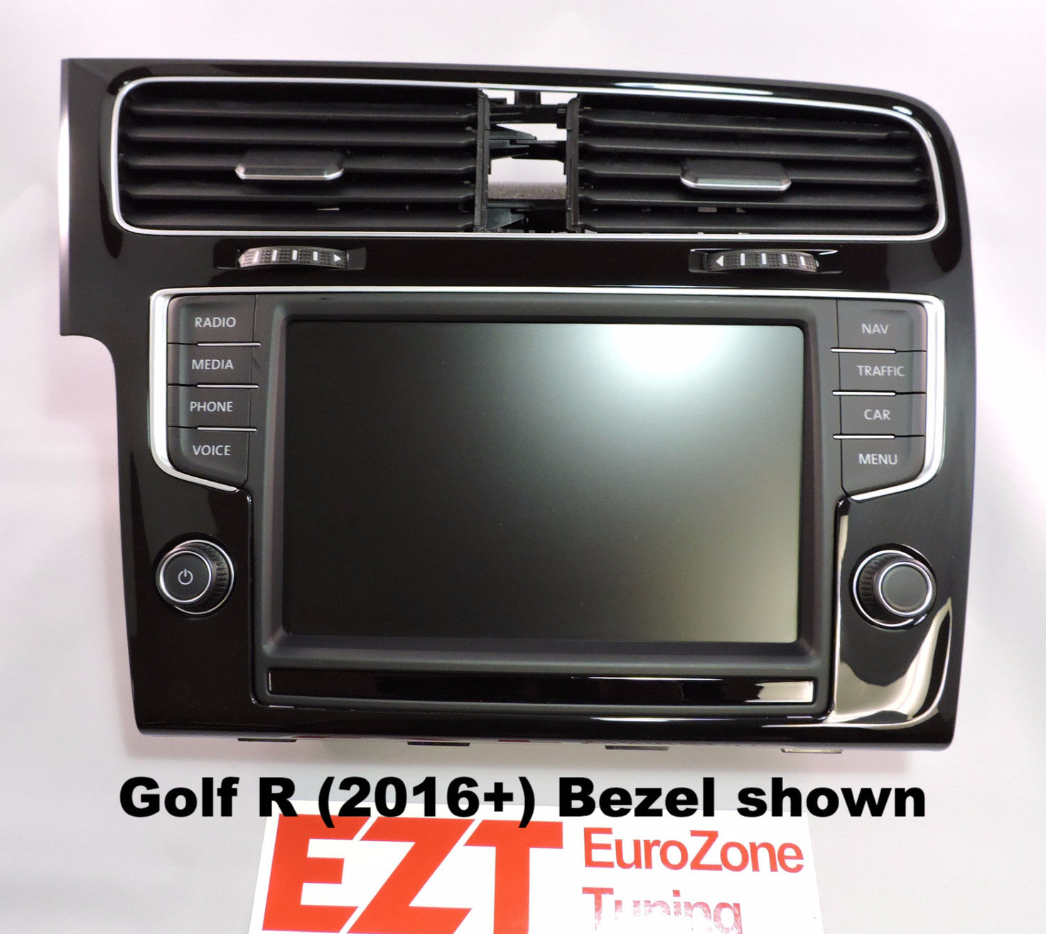 vw mk7 golf gti golfr e golf 8 screen retrofit kit nav eurozone tuning. Black Bedroom Furniture Sets. Home Design Ideas