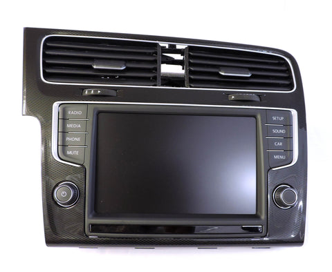 "VW MK7 Golf/GTI/GolfR/E-Golf 8"" Screen Retrofit Kit (Non Nav, mute Button)"