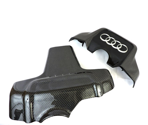 Audi 3.0T S4/S5/A6/A7/Q5/SQ5 Supercharged Carbon Fiber Engine Covers