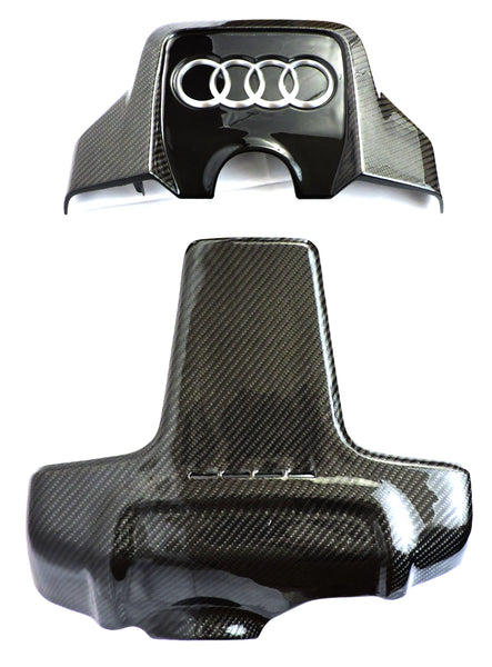EZT Audi 3.0T S4/S5/A6/A7/Q5/SQ5 Supercharged Carbon Fiber Engine Covers