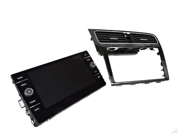 "VW MK7 Golf/GTI/GolfR/E-Golf 8"" Glass Display Retrofit Kit (Nav/Non Nav)"