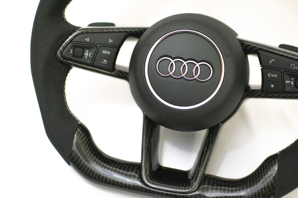 Audi MK3 TTRS/TTS MK2 R8 Carbon Edition Steering Wheel