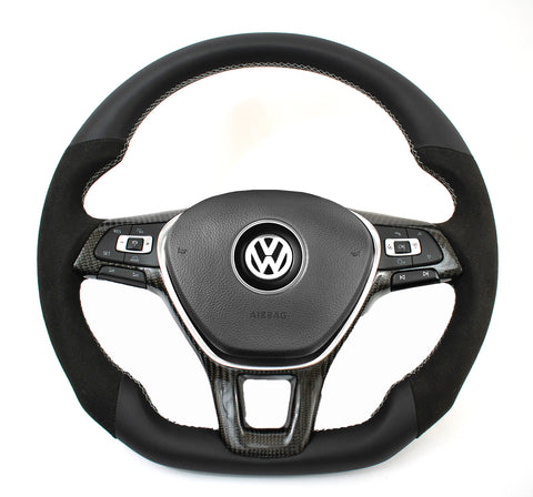 EZT Golf/Alltrack/E-Golf/Tiguan/Passat Custom Steering Wheel (VW MK7)