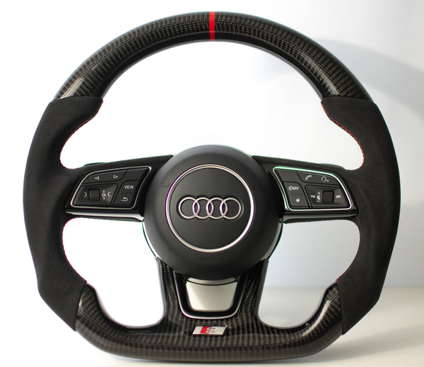 Audi B9 A3/S3/RS3/A4/S4/A5/S5/RS5 Carbon Edition Steering Wheel