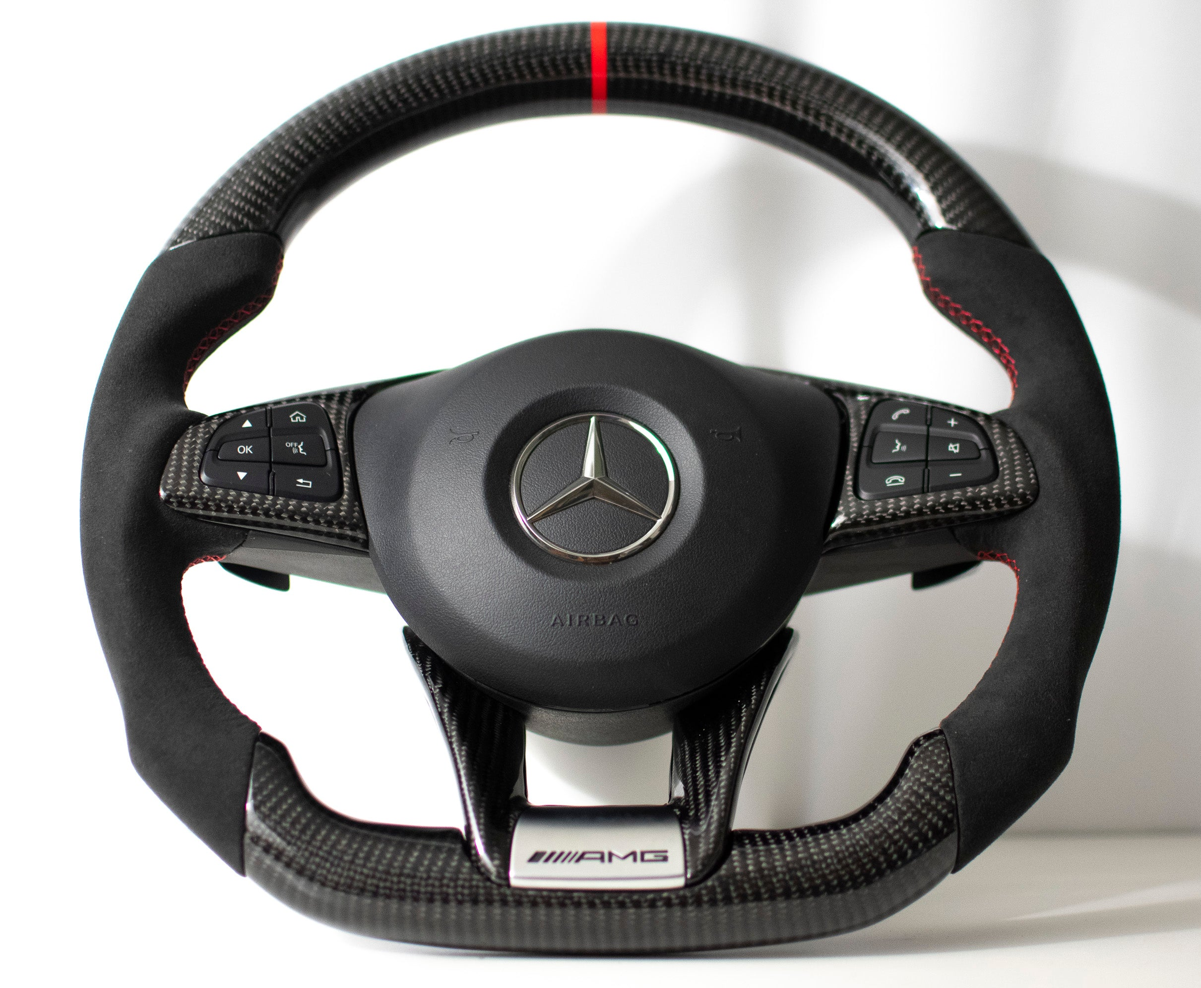 Mercedes Benz W205 AMG C43/C63 Carbon Edition Steering Wheel