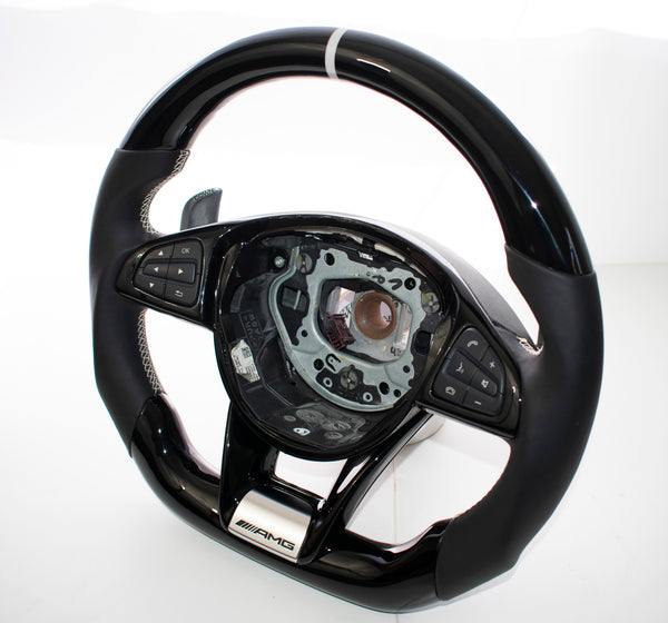 Mercedes Benz AMG W205 C43/C63 GT CLS Carbon Edition Steering Wheel