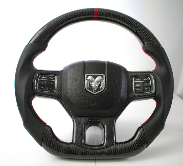 Dodge Ram 2012-2018 Carbon Edition Steering Wheel