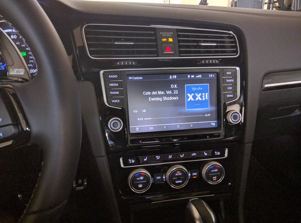 mk5 gti head unit upgrade
