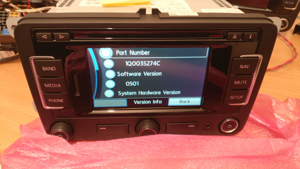 RNS315 Navigation System Brand New, V6N Maps
