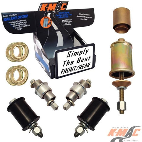 KMAC Camber Bushing Kit Rear: 502226K For W204/W205/C207/W212 Mercedes