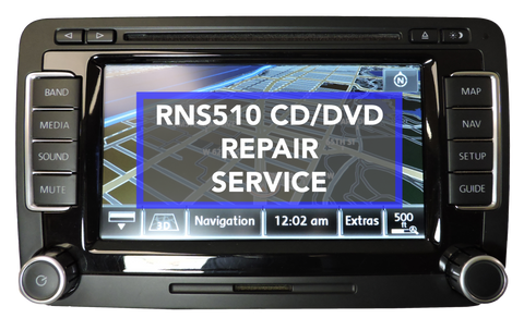 VW RNS510 CD/DVD Mechanism Repair