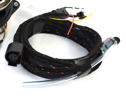 VW MK7 OEM Low Line Emblem Camera Wiring Harness