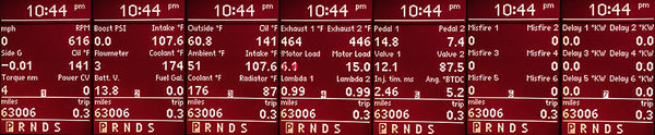 POLAR FIS ADVANCED DASHBOARD DISPLAY - Eurozone Tuning - 7