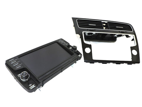 "VW MK7 Golf/GTI/GolfR/E-Golf 8"" Screen Retrofit Kit (Non Nav, Voice Button)"