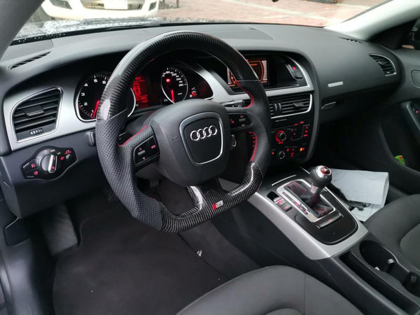 Audi B8 Pre-Facelift S4 S5 A4 A5 Carbon Edition Steering Wheel