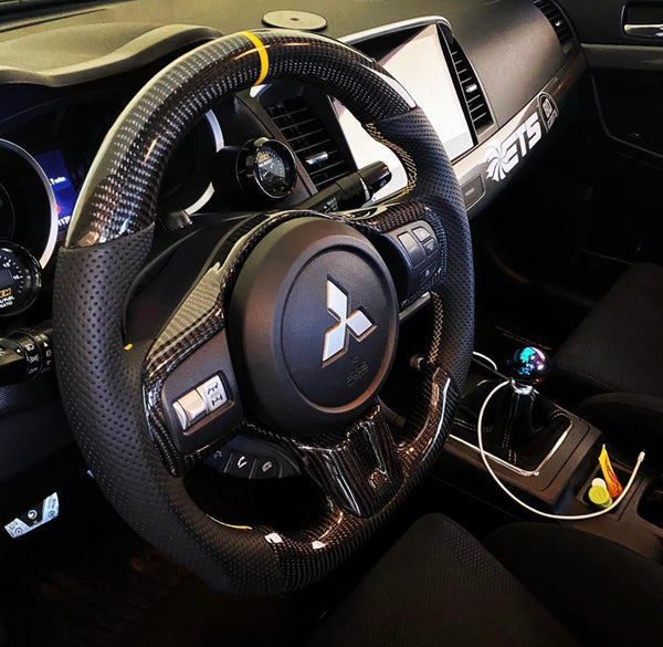 Mitsubishi Lancer Evo Evolution X Carbon Edition Steering Wheel