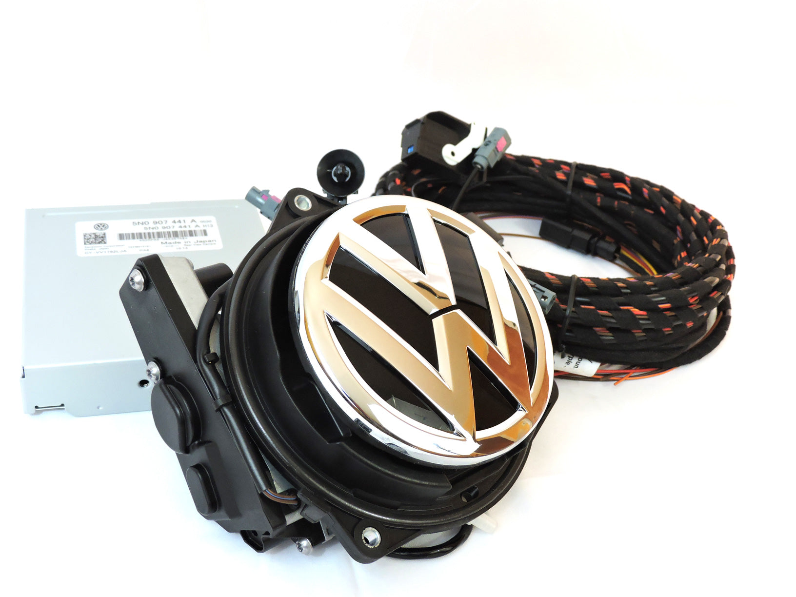 Volkswagen Highline Emblem Rear View Camera MK5/MK6 Golf, EOS, Passat
