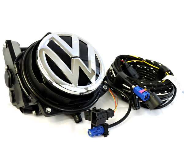 Volkswagen Beetle 2012+ Emblem Rear View Camera Kit