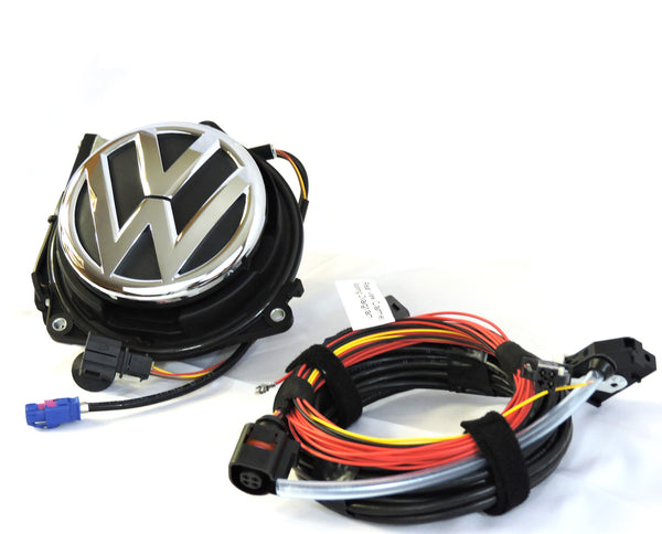 Volkswagen MK5/MK6 Emblem Rear View Camera Kit