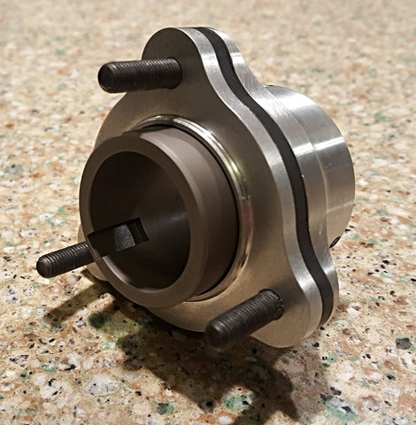 Series II  Ratchet hub - 1-1/4  regular and pocketed keyway axles- aluminum and titanium