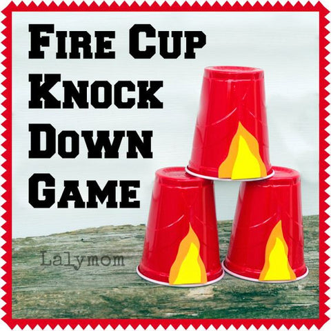 Fire Cup Knock Down Game