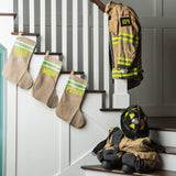 Firefighter Personalized ALL TAN Stocking