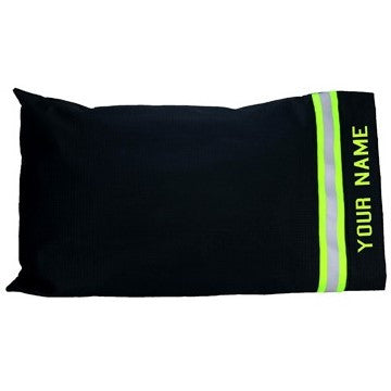 Firefighter Personalized BLACK Pillow Case