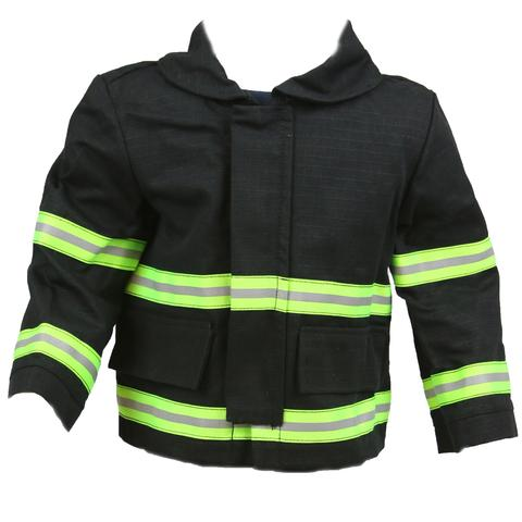 Firefighter Baby BLACK Jacket with Name on Back (JACKET ONLY)