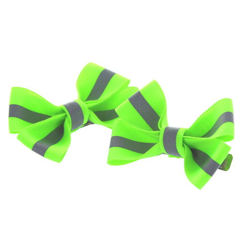 Firefighter Reflective Hair Bows