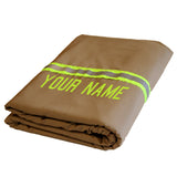 Firefighter Station Blanket Tan with LIME/YELLOW Reflector