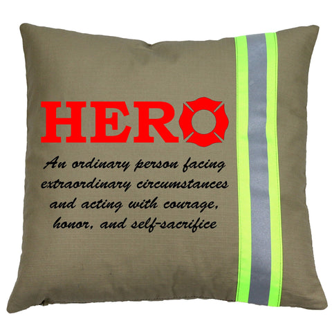 Firefighter HERO TAN Pillow