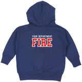 Firefighter Toddler Zip-Up Hoodie