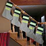 Personalized Firefighter Christmas Stocking (ONE STOCKING)