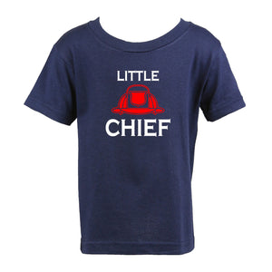 Personalized Firefighter Little Chief Toddler Shirt