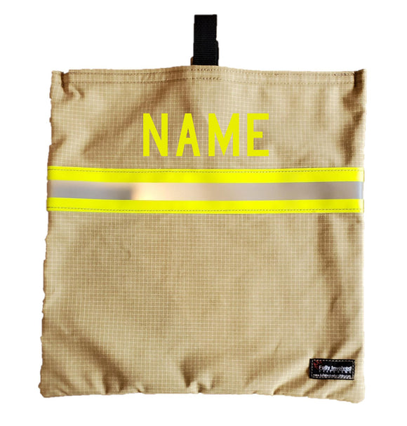 Firefighter Personalized Turnout Mask Bag