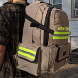 Firefighter Personalized Tan Backpack