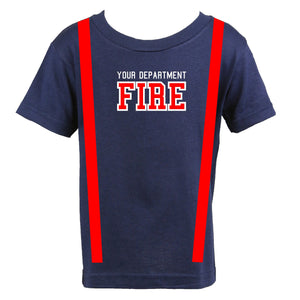 Firefighter Personalized Toddler Shirt
