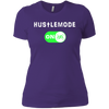 GeekBuds HustleMode ON! Womens Boyfriend Tee