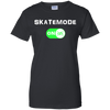 GeekBuds SkateMode ON! Womens 100% Cotton T-Shirt
