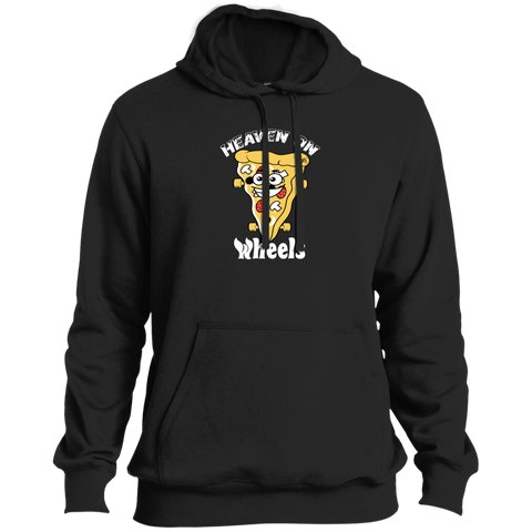 GeekBuds Skateboard Pizza Tall Pullover Hoodie